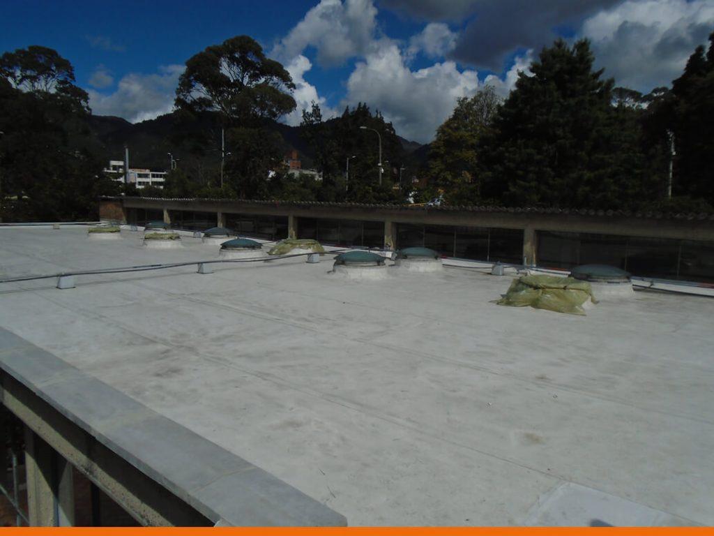 Cubierta edificio SINDU - Universidad Nacional de Colombia